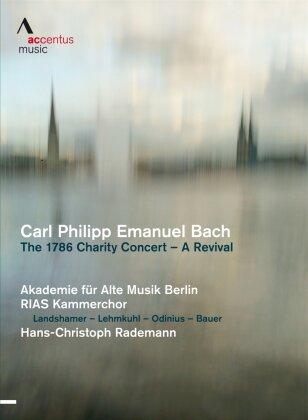Akademie für Alte Musik Berlin Akamus, Hans-Christoph Rademann, … - Bach - The 1786 Charity Concert - A Revival (Accentus Music)