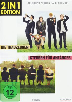 Die Trauzeugen / Sterben für Anfänger (2 in 1 Edition, 2 DVDs)