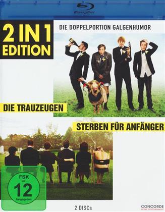 Die Trauzeugen / Sterben für Anfänger (2 in 1 Edition, 2 Blu-rays)