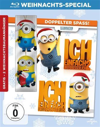 Ich - Einfach unverbesserlich 1 & 2 (Weihnachts-Special, Limited Edition)