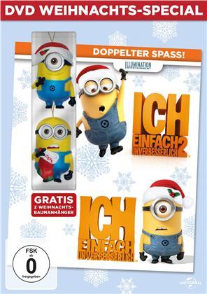 Ich - Einfach Unverbesserlich 1 & 2 (Weihnachts-Special, Limited Edition, 2 DVDs)