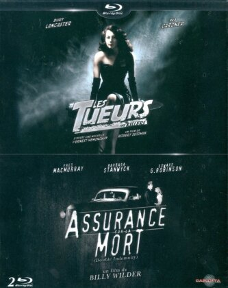 Les Tueurs (1946) / Assurance sur la mort (1944) (n/b, 2 Blu-ray)