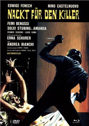 Nackt für den Killer (1975) (Cover C, Eurocult Collection, Limited Edition, Mediabook, Uncut, Blu-ray + 2 DVDs)