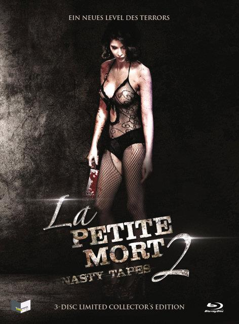 La Petite Mort 2 - Nasty Tapes (2014) (Cover A, Collector's Edition, Limited Edition, Uncut, Mediabook, Blu-ray + DVD + CD)
