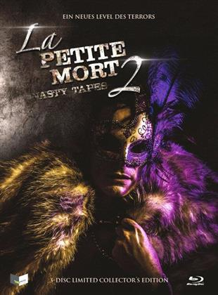 La Petite Mort 2 - Nasty Tapes (2014) (Cover B, Collector's Edition, Limited Edition, Mediabook, Uncut, Blu-ray + DVD + CD)