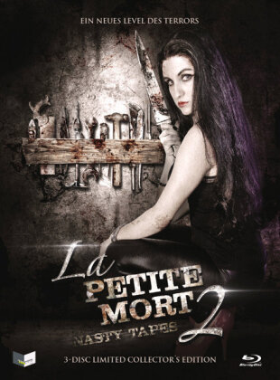 La Petite Mort 2 - Nasty Tapes (2014) (Cover C, Collector's Edition, Limited Edition, Mediabook, Uncut, Blu-ray + DVD + CD)