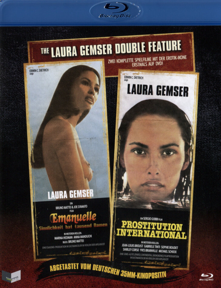 The Laura Gemser Double Feature - Emanuelle - Sinnlichkeit hat tausend Namen / Prostitution International (2 Blu-rays)