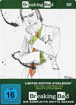 Breaking Bad - Staffel 3 (Limited Edition, Steelbook, 4 DVDs)