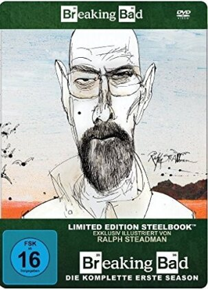Breaking Bad - Staffel 1 (Limited Edition, Steelbook, 3 DVDs)