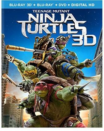 Teenage Mutant Ninja Turtles (2014) (Blu-ray 3D (+2D) + Blu-ray + DVD)