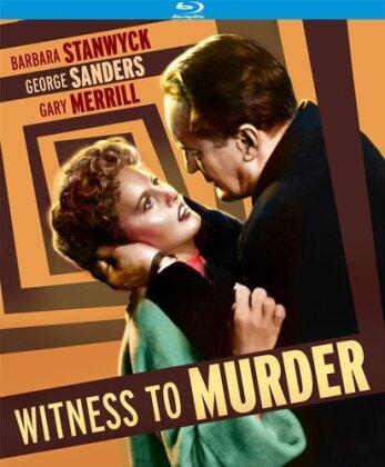 Witness to Murder (1954) (s/w)