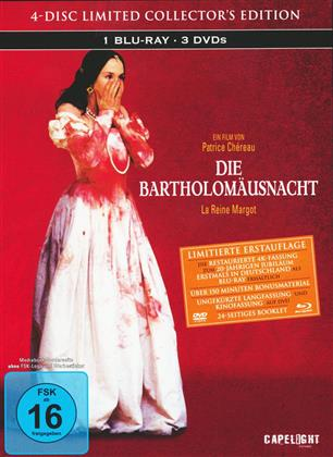 Die Bartholomäusnacht (1994) (Limited Collector's Edition Mediabook, Blu-ray + 3 DVDs)