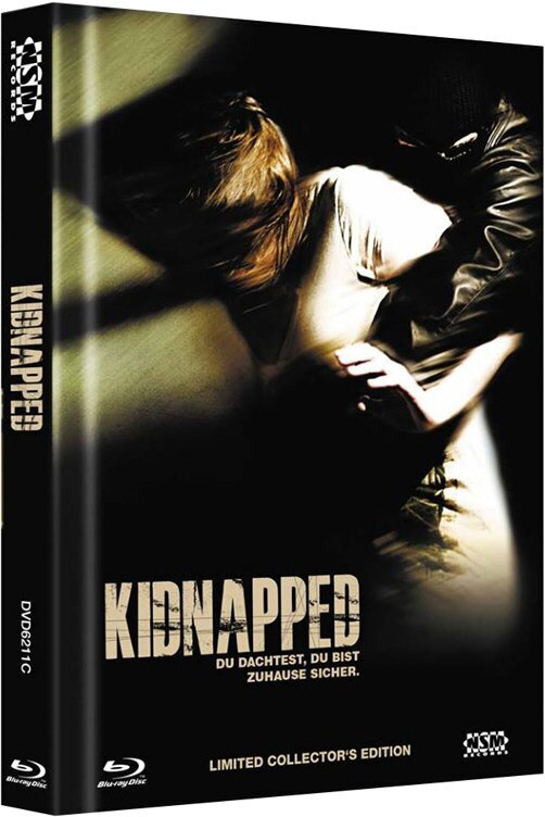 Kidnapped - Cover C (2010) (Limited Edition, Mediabook, Blu-ray + DVD)