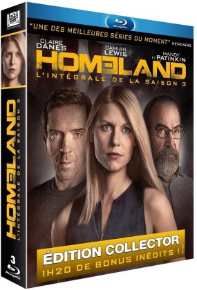 Homeland - Saison 3 (Collector's Edition, 3 Blu-rays)