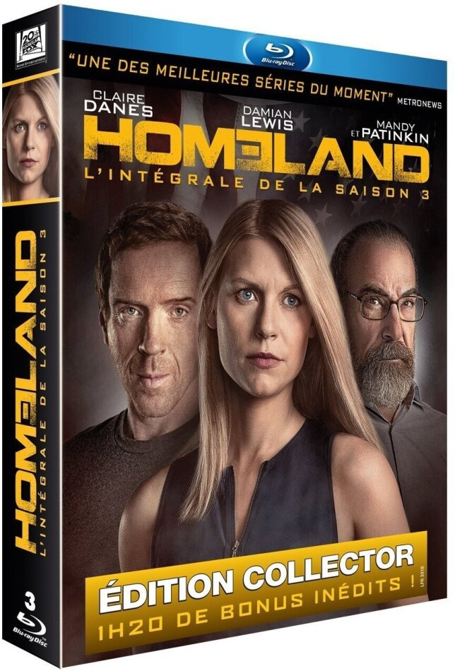 Homeland - Saison 3 (Collector's Edition, 3 Blu-rays)