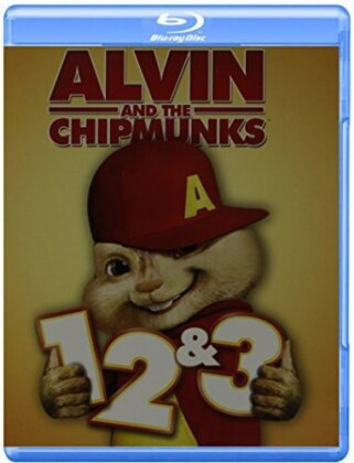 Alvin and the Chipmunks 1-3 (3 Blu-rays)