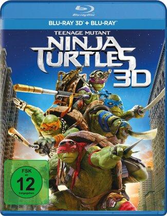 Teenage Mutant Ninja Turtles (2014) (Blu-ray 3D + Blu-ray)