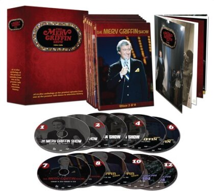 The Merv Griffin Show - 1962-1986 (12 DVDs)