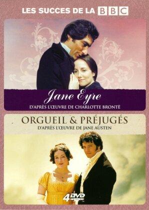 Jane Eyre (1983) / Orgueil & préjugés (1995) (BBC, 4 DVDs)