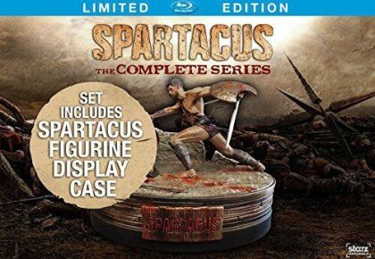 Spartacus - The Complete Series (Limited Edition, 13 Blu-rays)