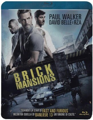 Brick Mansions (2014) (Limited Edition, Steelbook)
