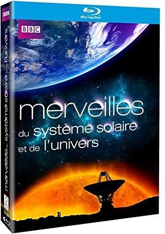 Merveilles du système solaire et de l'univers - L'intégrale de la série (BBC, 4 Blu-rays)