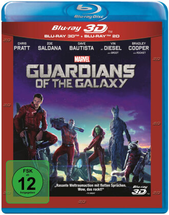 Guardians of the Galaxy (2014) (Blu-ray 3D + Blu-ray)