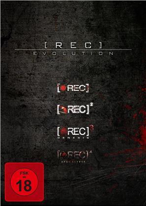(Rec) 1-4 - Evolution (4 DVDs)
