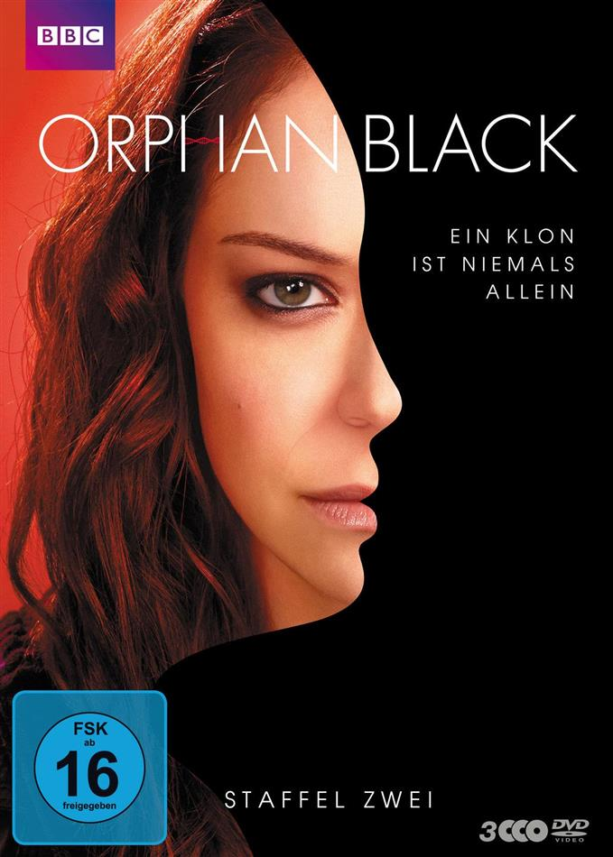 Orphan Black - Staffel 2 (BBC, 3 DVDs)