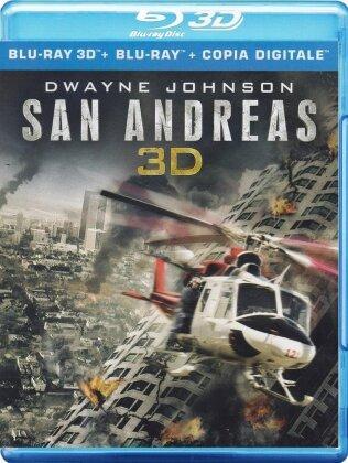 San Andreas (2015) (Blu-ray 3D + Blu-ray)
