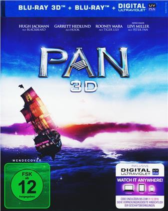 Pan (2015) (Blu-ray 3D + Blu-ray)