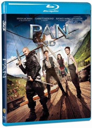 Pan - Viaggio sull'isola che non c'è (2015) (Blu-ray 3D + Blu-ray)