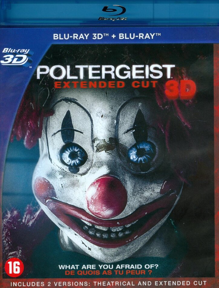 Poltergeist (2015) (Extended Cut, Versione Cinema, Blu-ray 3D + Blu-ray)