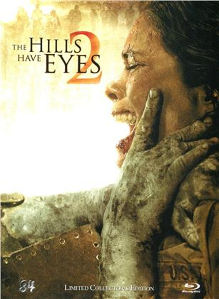The Hills Have Eyes 2 (2007) (Cover A, Collector's Edition, Limited Edition, Mediabook, Uncut, Blu-ray + DVD)
