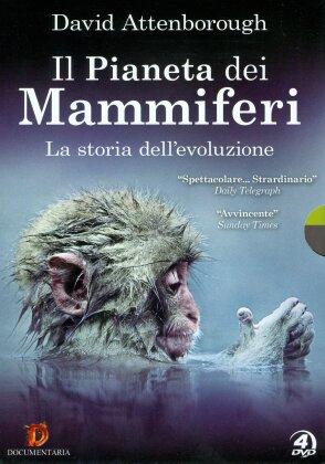 Il pianeta dei mammiferi - La storia dell'evoluzione (4 DVD)