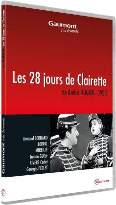 Les 28 jours de Clairette (1933) (Collection Gaumont à la demande, s/w)