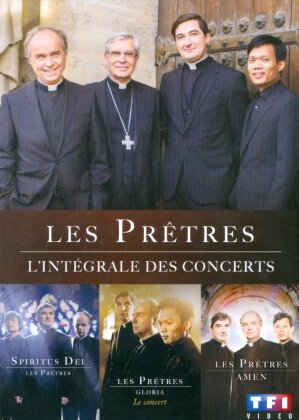 Les Prêtres - L'intégrale des concerts (3 DVDs)