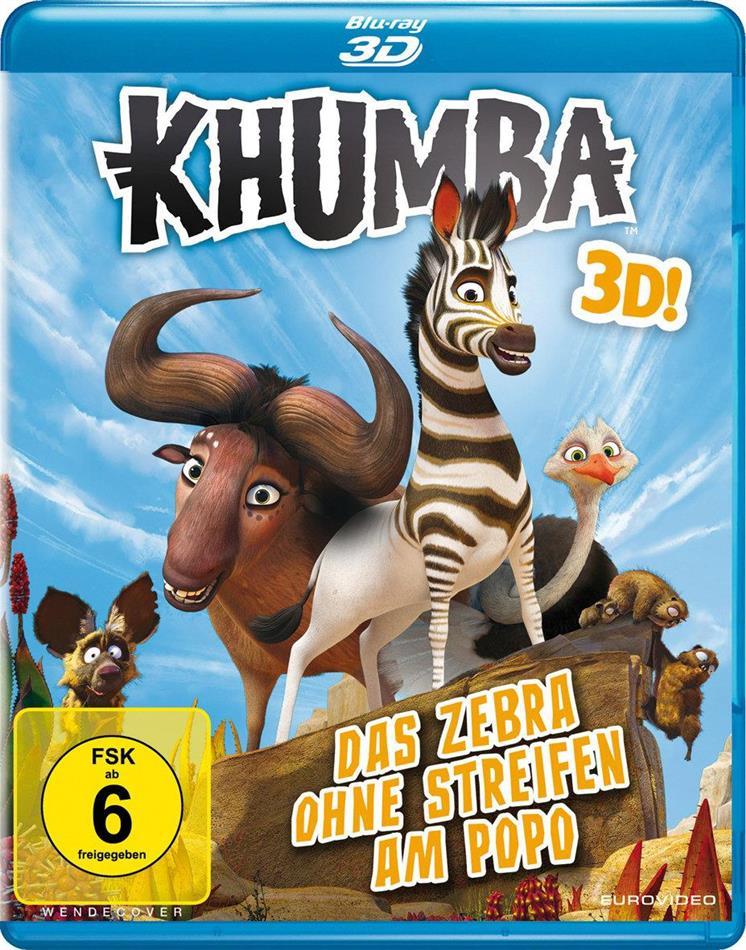Khumba - Das Zebra ohne Streifen am Popo (2013)