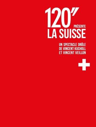 120'' présente la Suisse - Un spectacle drôle de Vincent Kucholl et Vincent Veillon (2 DVDs)