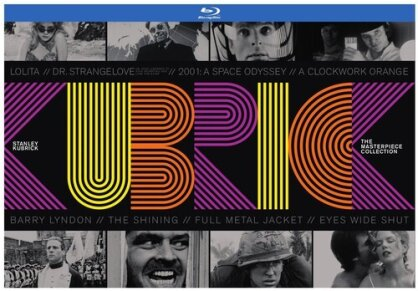 Stanley Kubrick - The Masterpiece Collection (10 Discs, with Book)