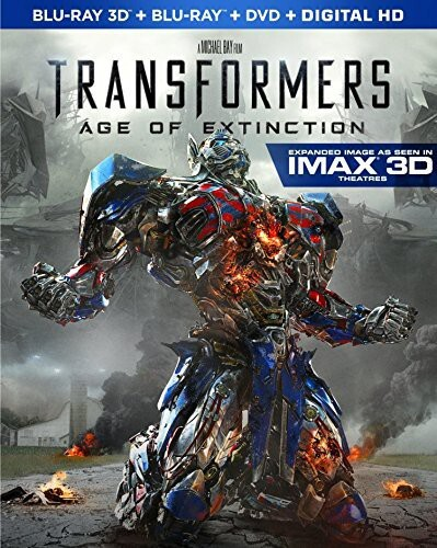 Transformers 4 - Age of Extinction (2014) (Blu-ray 3D (+2D) + Blu-ray + DVD)