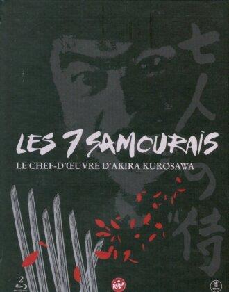 Les 7 Samouraïs (1954) (s/w, Digibook, 2 Blu-rays)