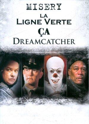 4 films adaptés de l'oeuvre de Stephen King - Misery / La ligne verte / Ça / Dreamcatcher (4 DVDs)