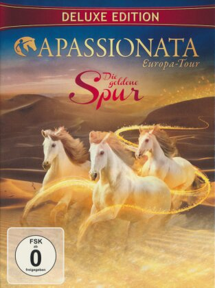 Apassionata - Die goldene Spur - Europa Tour (Deluxe Edition, 2 DVDs)