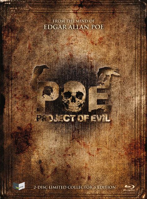 POE - Project of Evil (Cover A, Limited Edition, Mediabook, Uncut, Blu-ray + DVD)