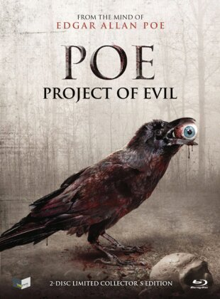 POE - Project of Evil (Cover B, Collector's Edition, Limited Edition, Mediabook, Blu-ray + DVD)