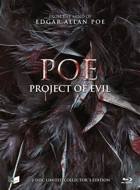 POE - Project of Evil - Cover C (Limited Edition, Mediabook, Blu-ray + DVD)