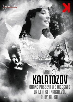 Mikhaïl Kalatozov - Quand passent les cigognes / La lettre inachevée / Soy Cuba (3 DVDs)
