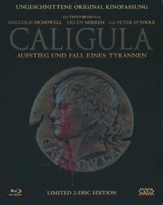 Caligula (1984) (Kinoversion, Limited Edition, Steelbook, Uncut, Blu-ray + DVD)