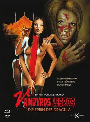 Vampyros Lesbos - Die Erbin des Dracula (1971) (Class-X-Illusions, Limited Edition, Mediabook, Uncut, Blu-ray + DVD)